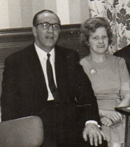 Thomas and Hilda Brockett c 1962