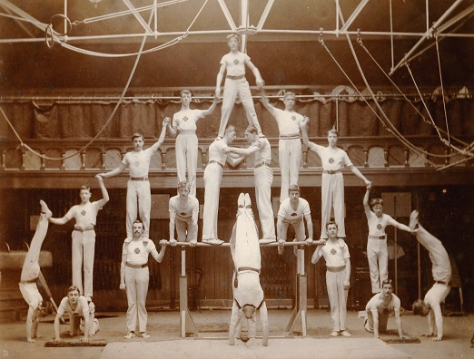Edwin Brockett Hitchin Gymnast c 1900