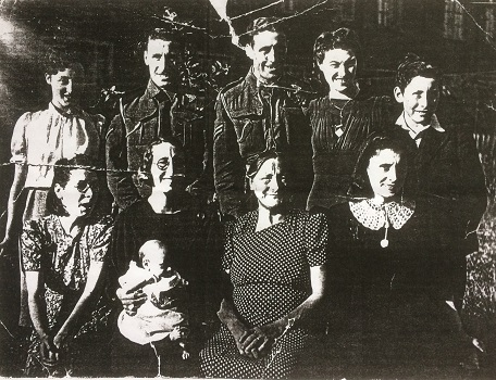 Edward and Emma's children c 1943