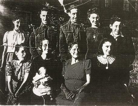 Edward and Emma's children c 1943
