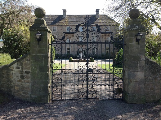 Headlam Hall gates