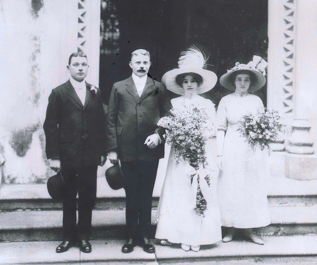 Katie Brockett's Wedding Foo Chow China c 1917?