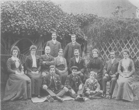 Thomas and Mary Ann Brockett and family c 1901