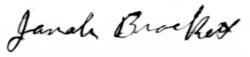 Jonah's signature 1918