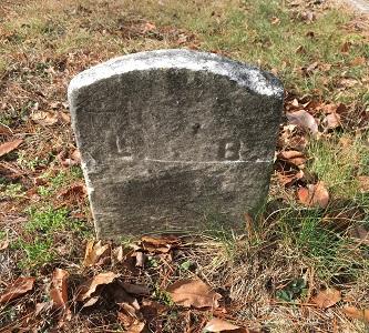 Grave of Lewis d 1874