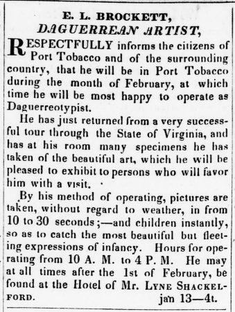 Edgar L Brockett newspaper snip
