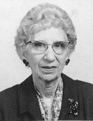 Genevieve Tate Brockett in 1959