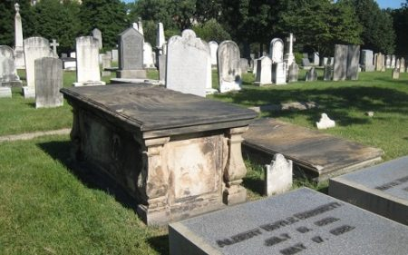 Graves of Robert and Annabella Brocket