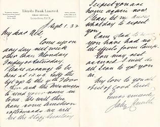 Jabez interview 1932