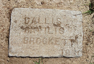 Dallis Brockett gravestone