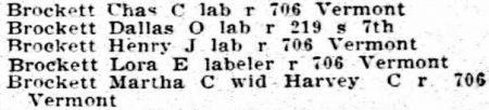 Kansas City Directory 1905