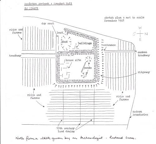 Brockethall Yorks plan view