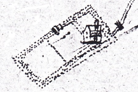 Brockethall manor 1596 Jeffrey map