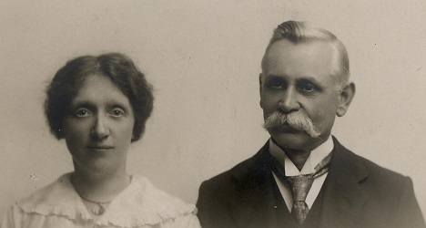 John and Ada Brockett 1920s