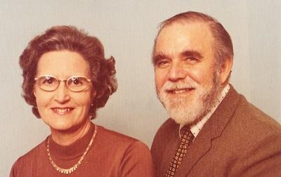 Doreen and Neil Brockett 1974