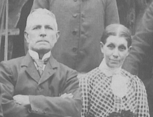 Thomas and Mary Ann Brockett c 1900